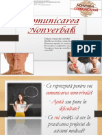 Comunicarea Nonverbala cu  proxemica