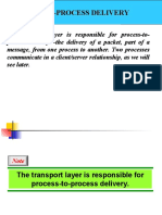 Transport layer TCP and UDP