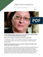 putereaacincea.ro-Interviu Germina Nagâț Scriitorii și delațiunile la Securitate