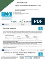RoadToBio_D12_Case_studies_bio-based_chemicals