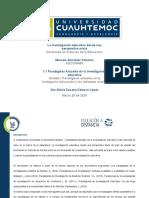 1.1 Paradimas  actuales de la investigación educativa_ González_Marcela
