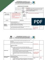 Lesson Plan 5th 2nd term (CLIL)