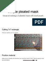 Simple Pleated Mask