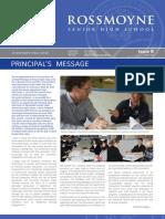 2013 Issue 8 Rossmoyne SHS News