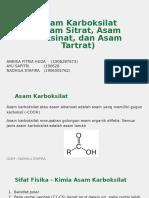 Annisa Fitria Huda, Ayu Sapitri, Nadhila Syafira_ Analisis Asam Sitrat, Asam Suksinat, dan Asam Tartrat_AFD A.pptx