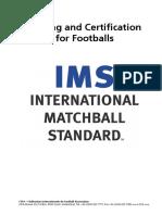 IMS FOOTBALL STANDARDS