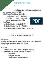 Kuliah Radang Telinga Tengah dr. hadi