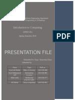 Presentation file ITC