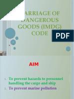 20. IMDG Code.presentation
