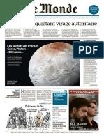 Le Monde 23 Décembre 2015