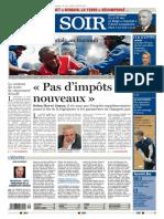 Le Soir 15 05 2015