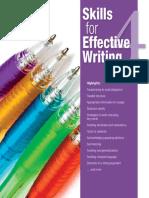 Skills for Effective Writing Level 4 SB
