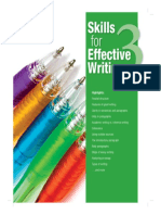 Skills for Effective Writing Level 3 SB
