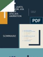 dossier théorique animation 2