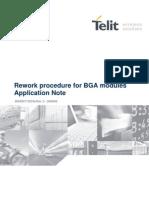 Rework Procedure for Bga Modules