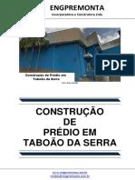 Construção de Prédio Em Taboão Da Serra