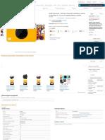 Kodak Printomatic - Cámara de impresión instantánea, imprime en Papel Zink 5 x 7.6 cm con respaldo adhesivo, amarillo_ Amazon.es_ Electrónica