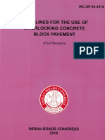 IRC SP 63-2018_GUIDELINES FOR THE USE OF INTERLOCKING CONCRETE BLOCK PAVEMENT