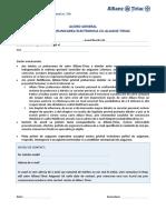 ALLIANZ -Acord General Prelucrare Date PJ