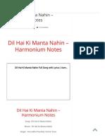 Dil Hai Ki Manta Nahin