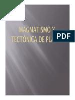 Magmatismo y tectonica de placas