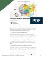 Gatilhos Cerebrais para Aprendizagem _ LinkedIn