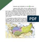 Specificul imperiul rus