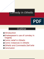 Comedy in Othello