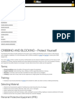 CRIBBING AND BLOCKING – Protect Yourself – Altec Inc