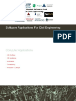 Softwares used in Civil Engineering