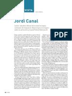 Entrevista a Jordi Canal
