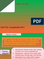 Liqo' Tgl 14 Sep -2013