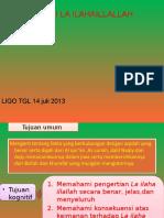 Liqo' Tgl 14 Juli -2013