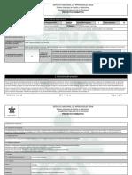 Reporte Proyecto Formativo - 1131260 - PLAN INSTITUCIONAL DE MANEJO A