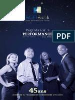 Rapport annuel 2015 BGFI