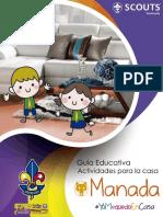 Guía de Actividades de Manada para #QuedarseEnCasa