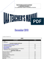 PFLE Teacher's Manual (December 2010)