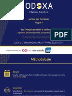 Odoxa CGI France Info France Bleu Avril 2020