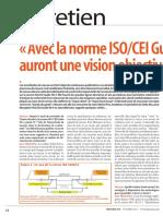 Deltamu - Avec la norme ISOCEI Guide 98-4 les métrologues auront une vision objective des process
