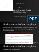 Introdução ao Teorema de Fourier e à análise espectral