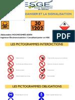 Codes des dangers et Signalisations