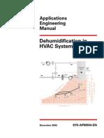Dehumidification in HVAC System p1
