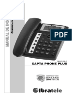 Manual de Instruções - IBRATELE - Capta Phone Plus