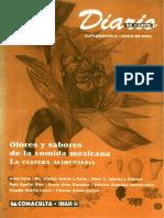 OLORES Y SABORES DE LA COCINA MEXICANA