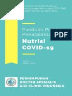 Panduan Praktis Penatalaksanaan Nutrisi COVID19 PDGKI