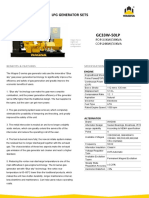 30kw液化石油气发电机组参数