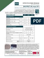 TDS MX Ficha Técnica Macgrid AR20.7