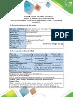 Guía actividades y rubrica de evalaución - Fase 1 - Conceptos de generales