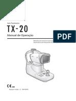 Instruções de Uso - Auto Tonometro TX-20 APRAMED - versão 1.0