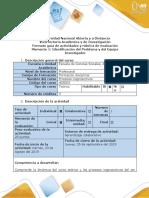 Guía de actividades y rúbrica de evaluación - Momento 1 - Identificación del Problema y del Equipo Investigador.docx